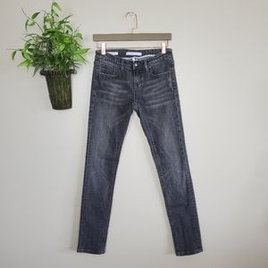 Vigoss Studio The Brooklyn Skinny Black Jeans 27